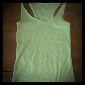 Womans small tan top